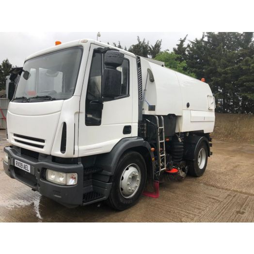 2009 [09] IVECO Eurocargo Johnston VT650 Used Road Sweeper