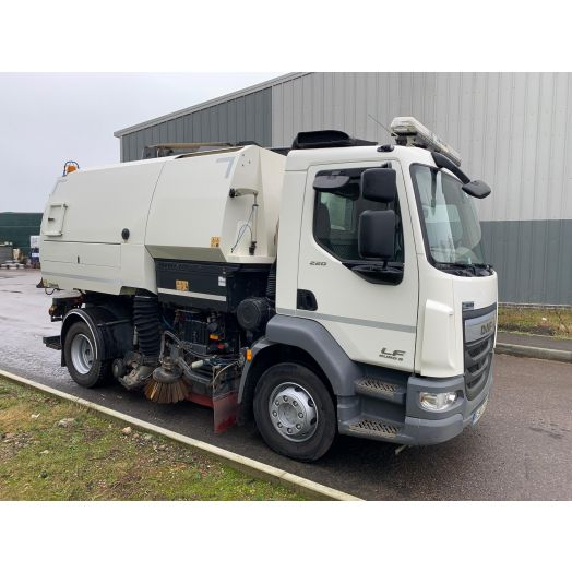 2016 [66] DAF LF SERIES Johnston VT651 Used Road Sweeper