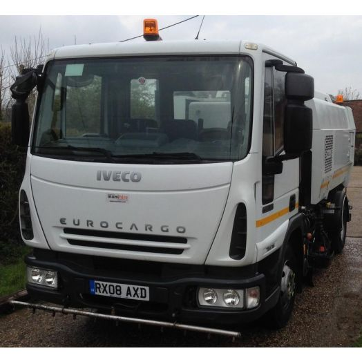 2008 [08] IVECO Eurocargo Scarab Merlin Used Road Sweeper