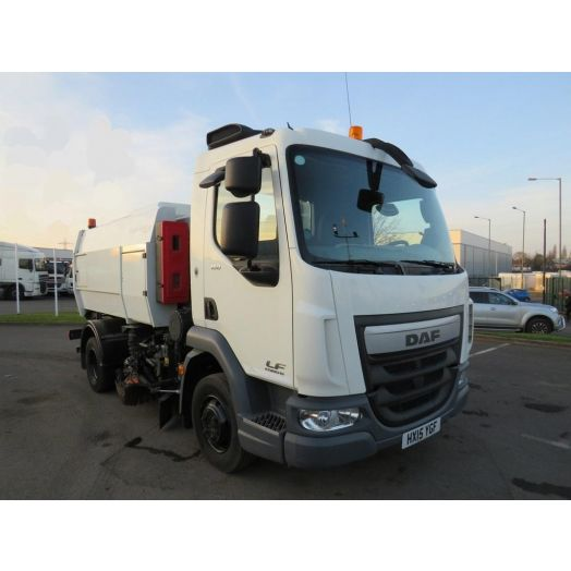 2015 [15] DAF LF150 Scarab Merlin XP Hydrostatic Used Road Sweeper