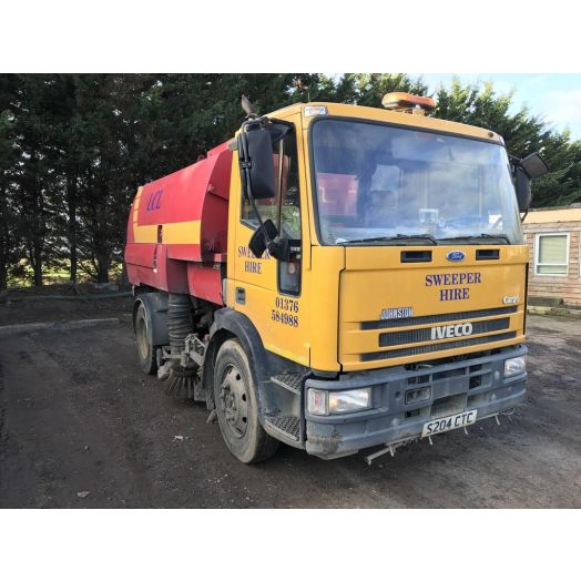 1998 [S] IVECO Ford Johnston 600 Series Used Road Sweeper