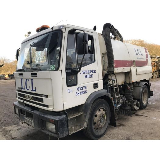 2002 [52] IVECO Ford Johnston 600 Series Used Road Sweeper