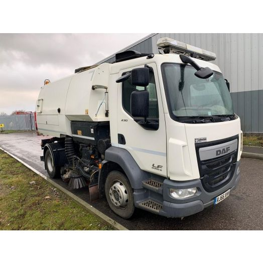 2016 [66] DAF LF Johnston VT651 Used Road Sweeper