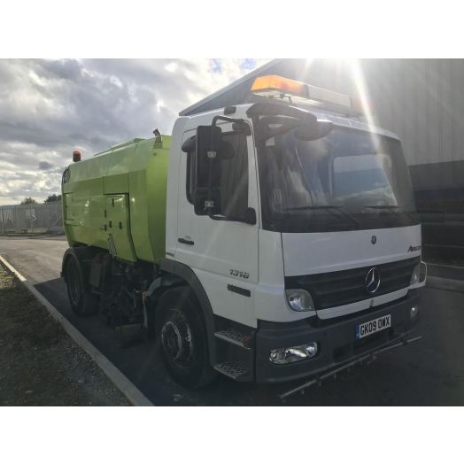 2009 [09] Mercedes-Benz Atego Scarab Mistral Used Road Sweeper