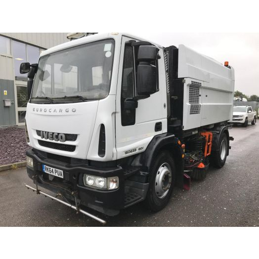 2014 [64] IVECO Eurocargo Scarab M6 Twin-Drive Used Road Sweeper