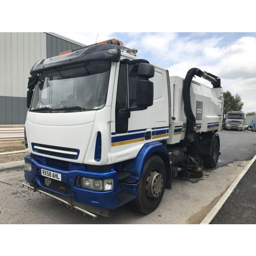 2008 [58] IVECO Eurocargo Scarab Mistral Used Road Sweeper