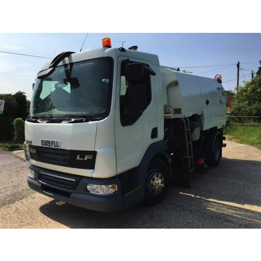 2009 [09] DAF LF45 Johnston VT500 Used Road Sweeper
