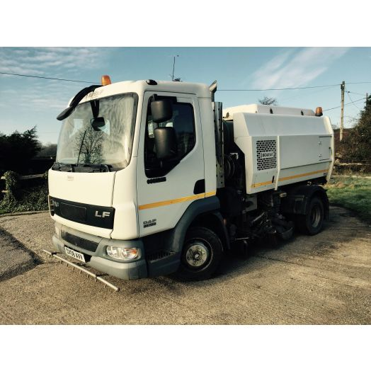 2008 [08] DAF LF45 Scarab Merlin XP Used Road Sweeper