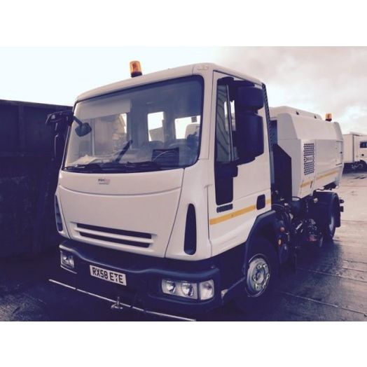 2008 [58] IVECO Eurocargo Scarab Merlin Used Road Sweeper