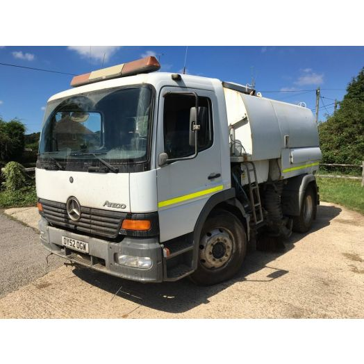 2002 [52] Mercedes-Benz Atego Johnston 600 Used Road Sweeper