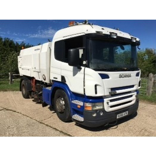 2006 [56] Scania P270 Scarab Mistral Used Road Sweeper