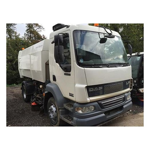 2007 [56] DAF 220 Scarab Magnum Used Road Sweeper