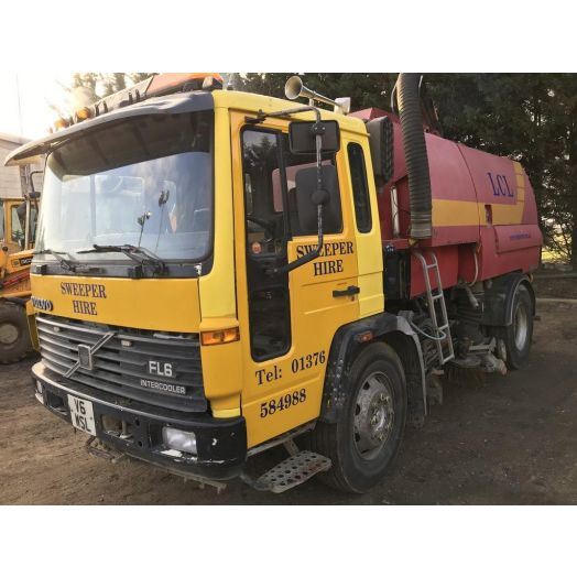 Volvo FL6 Johnston 600 Used Road Sweeper