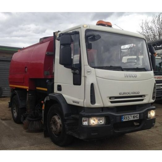 2007 [57] IVECO Eurocargo Stock Remount Used Road Sweeper