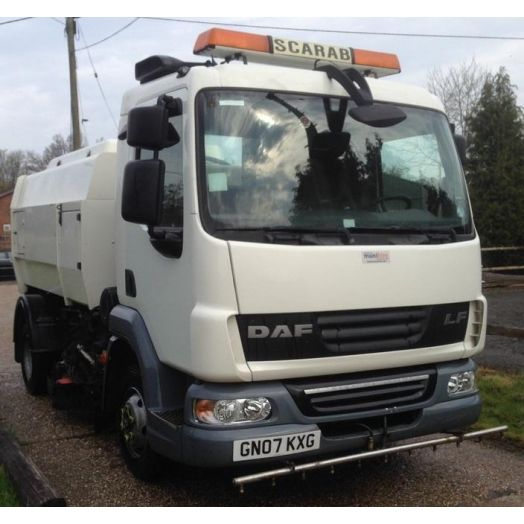 2007 [07] DAF LF45 Scarab Merlin Used Road Sweeper