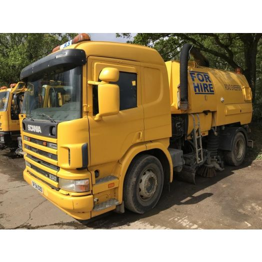 2004 [04] Scania P Series Johnston VT650 Used Road Sweeper