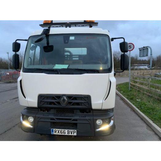 2016 [66] Renault Renault D Johnston VT651 Used Road Sweeper
