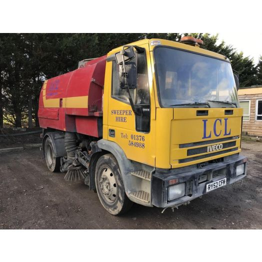 2002 [52] IVECO 130E18 Johnston 600 Series Used Road Sweeper