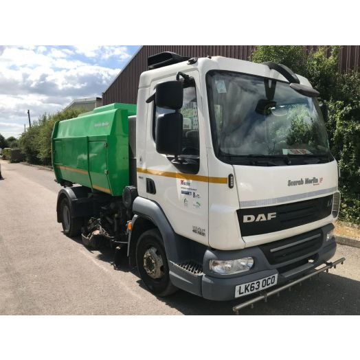 2013 [63] Scarab Used Road Sweeper