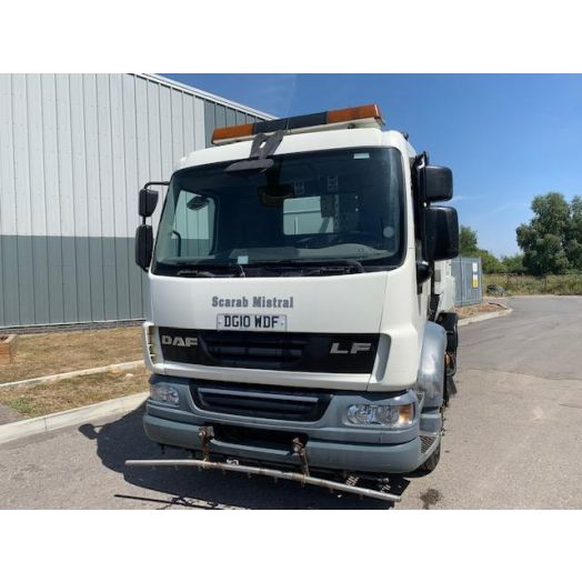 2010 [10] DAF LF55 Scarab Mistral Twin-Drive 6.2 Used Road Sweeper