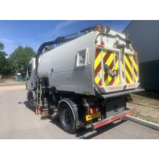 2015 [15] DAF LF Johnston VT651 Used Road Sweeper