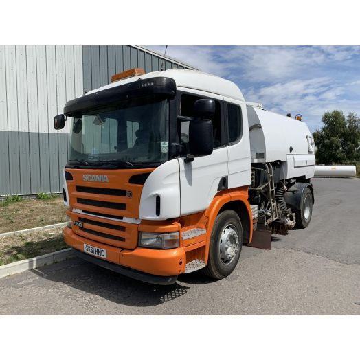 2011 [61] Scania P Series Johnston VT650 Used Road Sweeper
