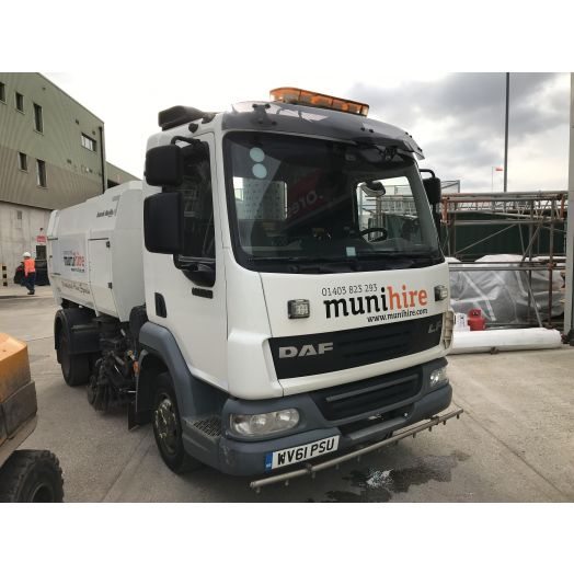 2011 [61] DAF 45 Scarab Merlin XP Used Road Sweeper